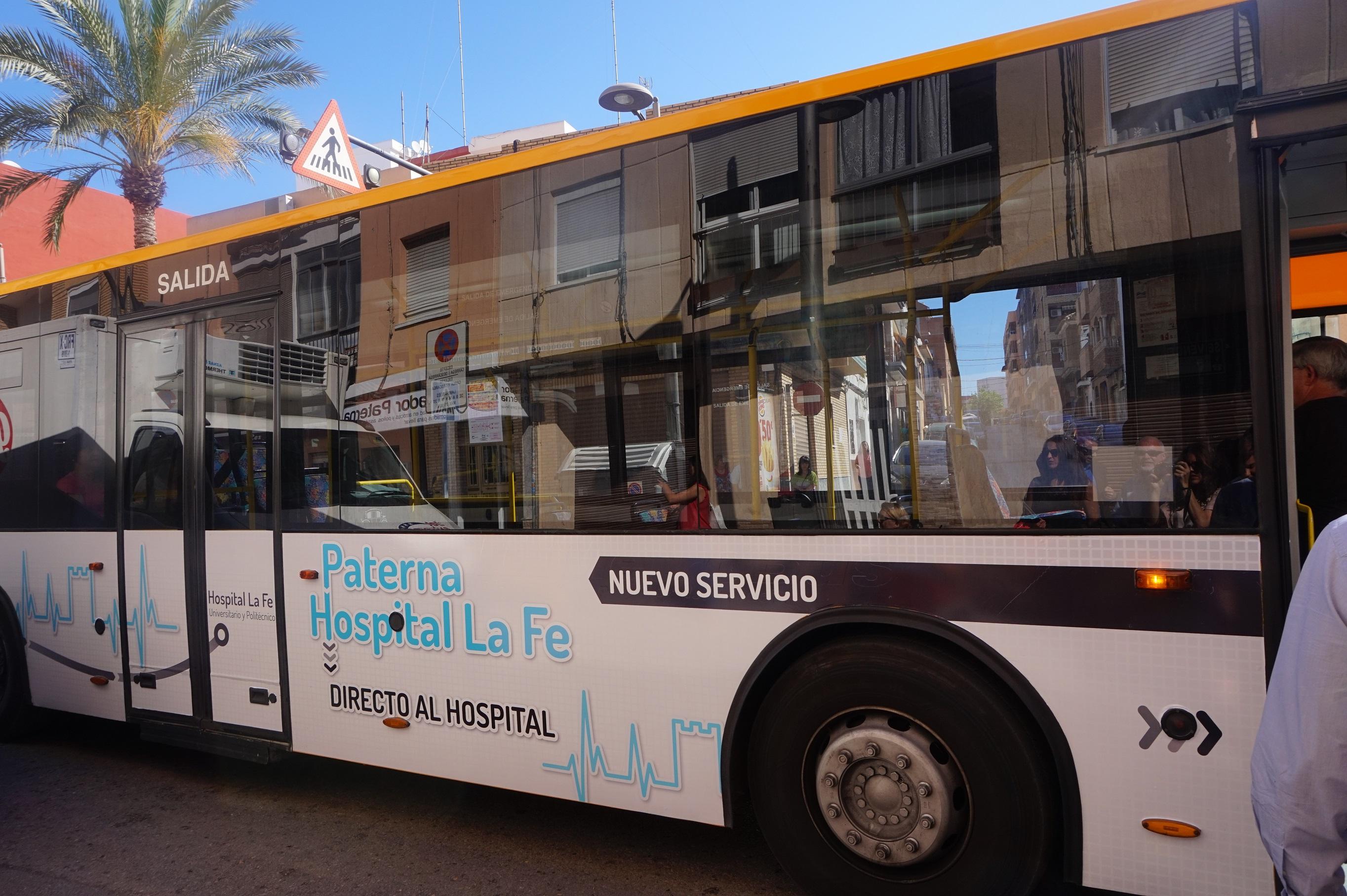 El bus de paterna a la fe cumple un a o con viajeros - El tiempo en paterna valencia ...