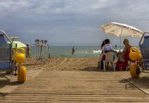 Baño adaptado en playas valencianas