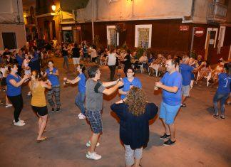 Calle de Paiporta en fiestas