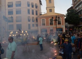 Fiesta y pólvora en Burjassot