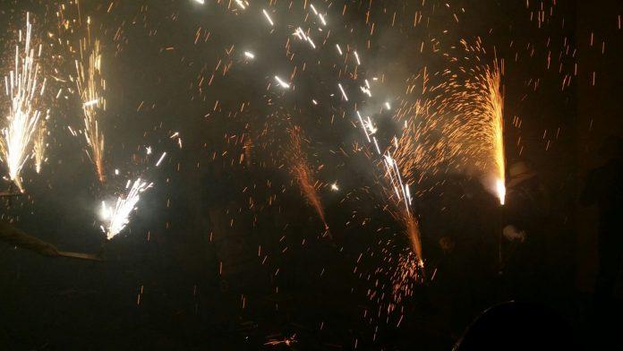 La Cordà de Paterna fiesta del fuego