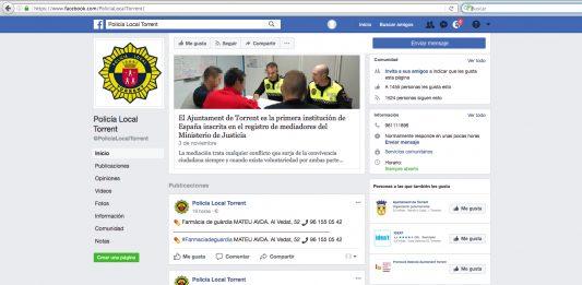 Redes sociales Policía Local Torrent