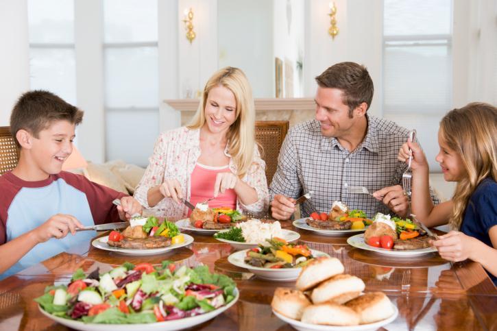 Image result for cena en familia
