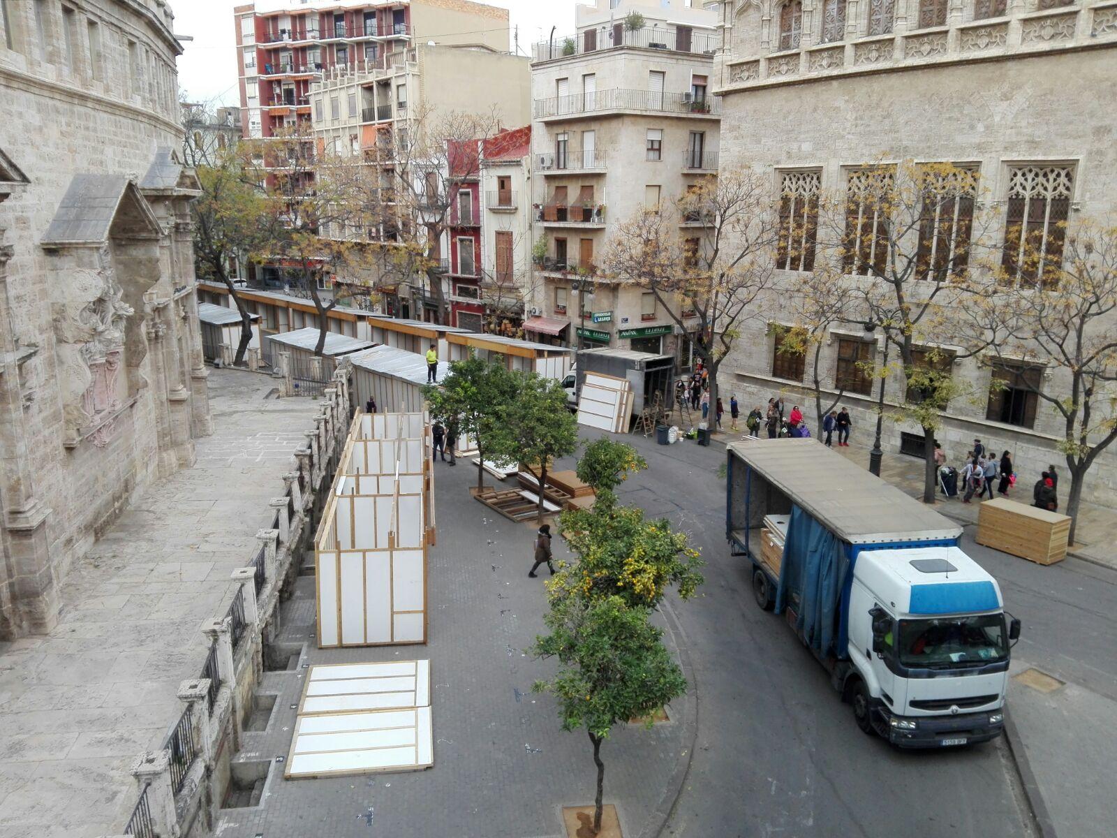 Comercio Mejora El Mercadillo Del Centro Y Potencia Su Car Cter  ~ Mercadillos Navideños En Valencia