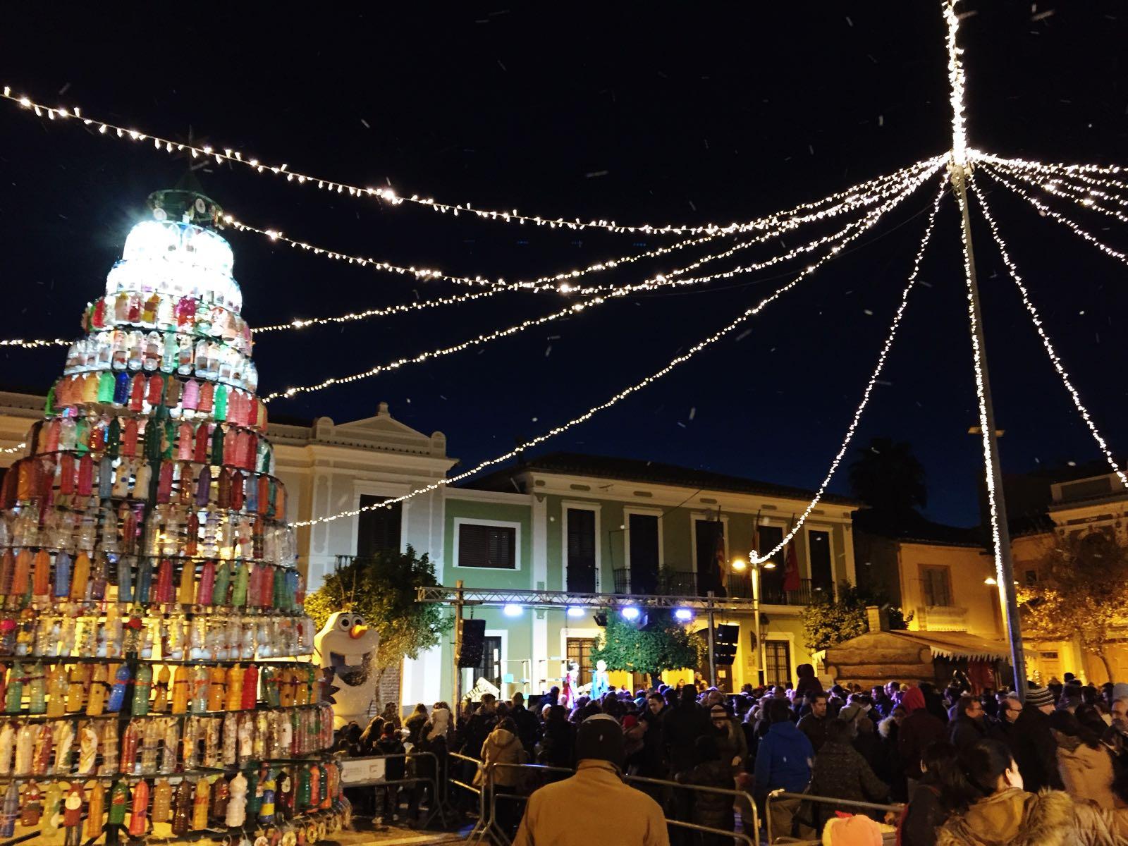 El centre de paterna ja viu de ple el nadal - El tiempo en paterna valencia ...