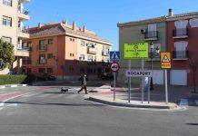 Velocidad limitada en Rocafort
