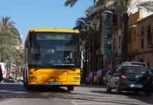Servicio de autobús a la Fe