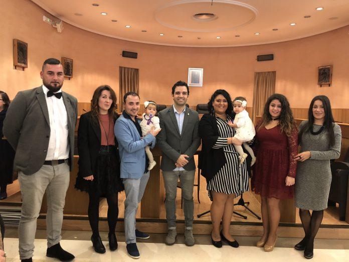Primer bautizo civil Paterna