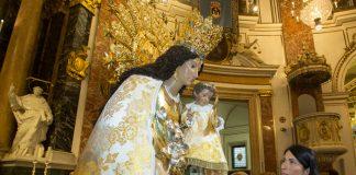 Imagen de la Virgen de los Desamparados