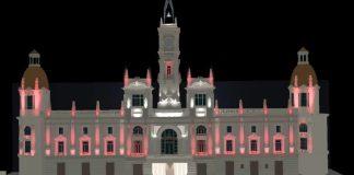 Nueva iluminacion Ayuntamiento Valencia