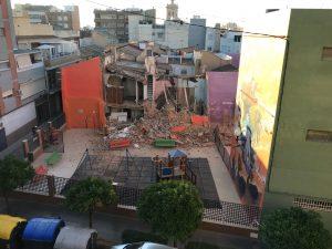 Derrumbe casa en Torrent