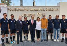 Partido homenaje a Jaume Ortí