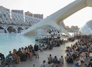 Los conciertos en lagos Ciutat de Les Arts
