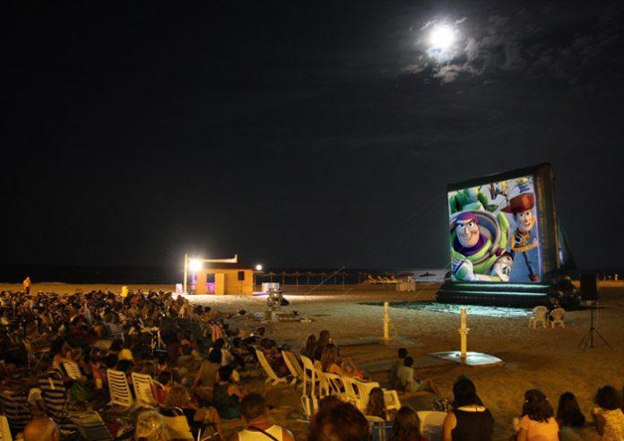 cinema a les platjes