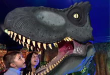 Expo Dino: el gran parque jurásico en Valencia