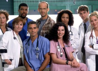 Protagonistas de la serie Urgencias