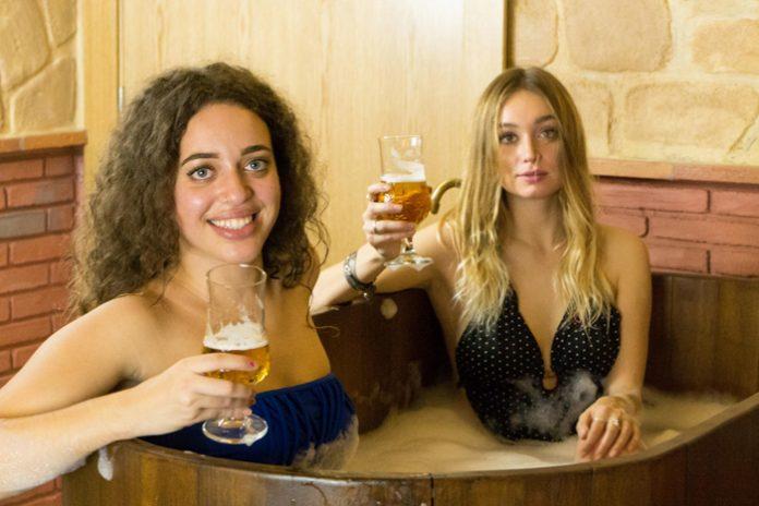 Imagen del spa de cerveza