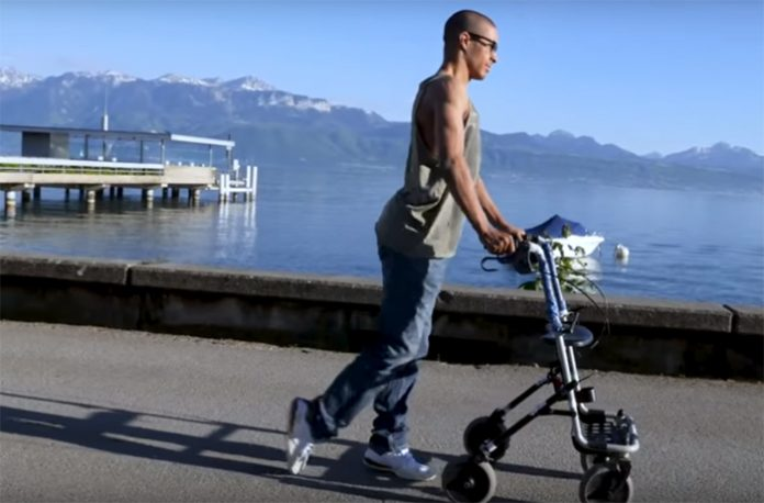 Personas con lesiones medulares vuelven a andar