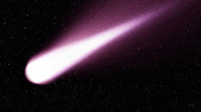 Un cometa cruzará Aras de Olmos