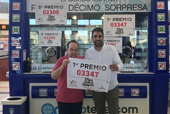 Ganadores de millones de euros en la lotería