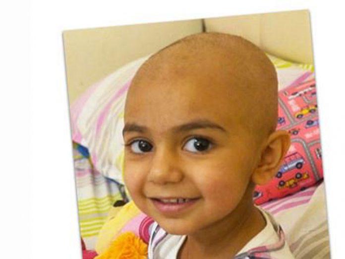 La niña que necesita donantes de sangre