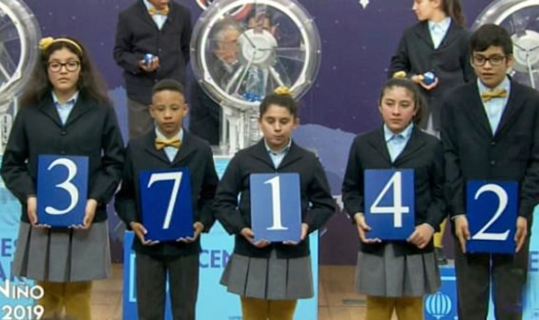 Primer Premio Lotería Niño