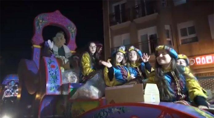 Cabalgata Reyes Magos Aldaya