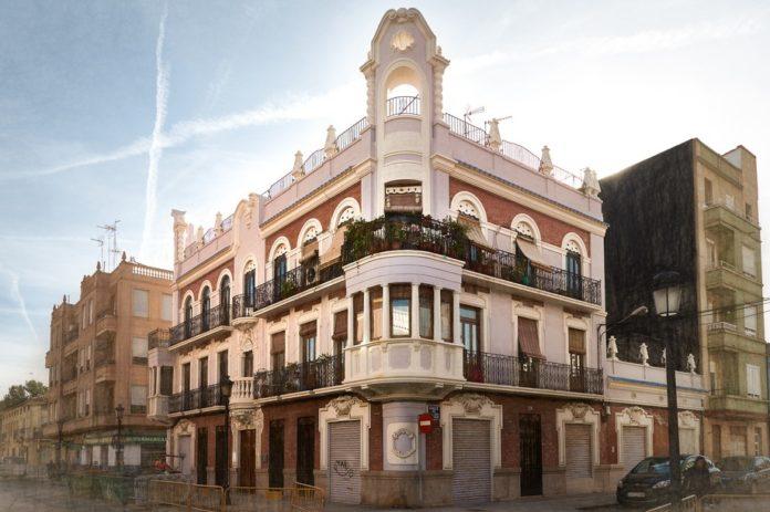The Guadian. Barrio del Cabanyal de Valencia.