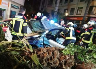 accidente Gran Via