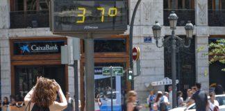 Sanitat activa la alerta naranja por ola de calor en once comarcas