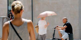 Valencia rozará hoy los 40 grados bajo una ola de calor riesgo