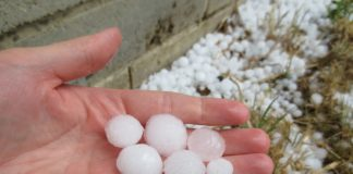 Las tormentas de pedrisco superarán los 8 millones de euros en indemnizaciones en la Comunitat Valenciana