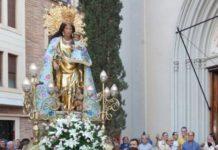 Virgen Desamparados peregrina Benimaclet