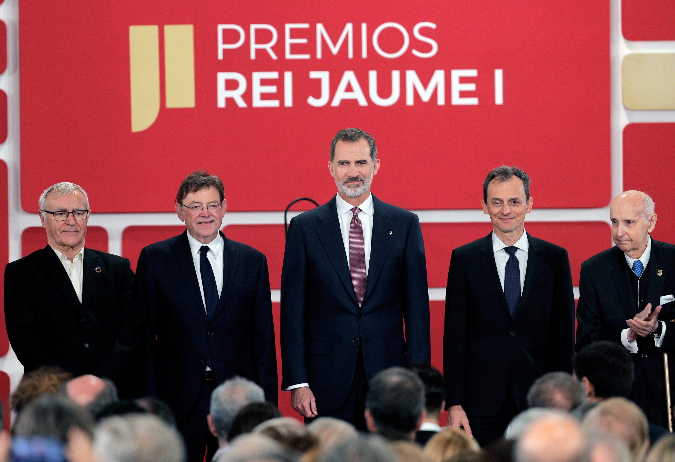 El Rey Felipe VI entrega los Premios Jaime I