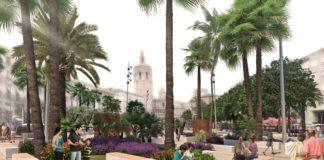Hacienda desbloquea la reforma de la Plaza de la Reina: así será tras la remodelación
