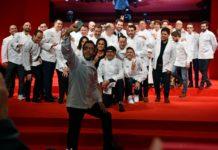 Quique Dacosta y otros chefs galardonados con Estrellas Michelín. Foto Guía Michelín
