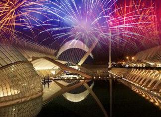 Nochevieja en la ciudad de las Artes de Valencia