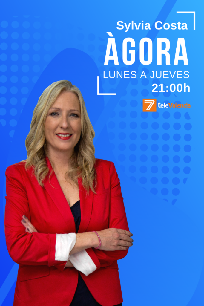 La política más relevante de Valencia y España con Sylvia Costa en Àgora de 7TeleValencia