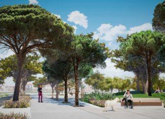 Proyecto del nuevo parque Cuevas Carolinas de Valencia.