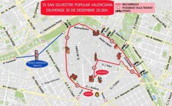 horario y recorrido San Silvestre