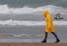 Valencia en alerta amarilla por próximas tormentas
