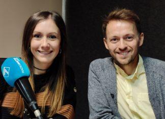 Xavi Benavent de Tasta'l d'ací durante la entrevista en el programa La Graella de Radio Siete