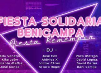 cartel fiesta solidaria benicampa