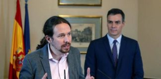Pablo Iglesias y Pedro Sánchez   EFE