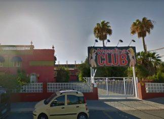 Club de alterne Mesalina, lugar en el que se ideó el crimen de Polop