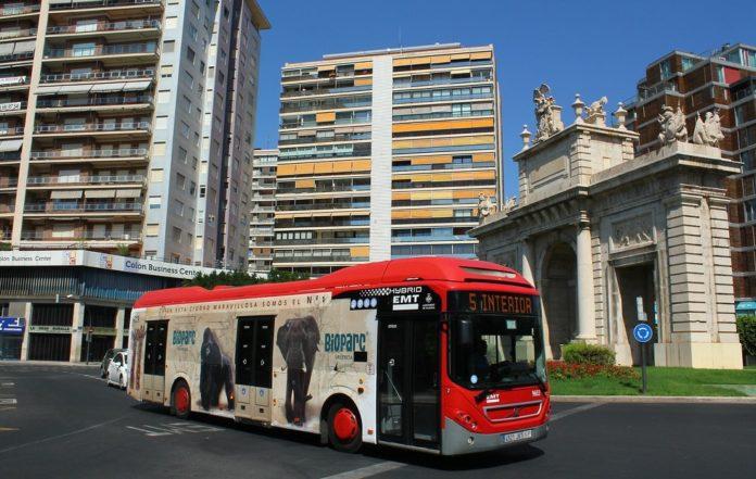 Horario especial autobuses Valencia por Reyes