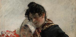 Obra 'Las Chulas' de Joaquín Sorolla.