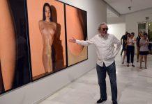 El artista Miquel Navarro en una de sus exposiciones.