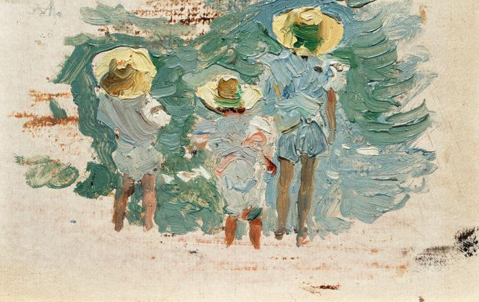 Obra de la colección 'Cazando impresiones' de Joaquín Sorolla.