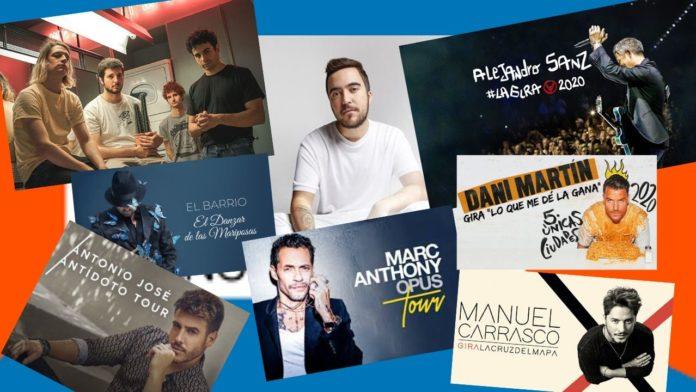 Conciertos 2020 en Valencia